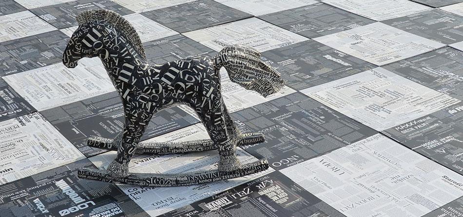 Skulpturale Objekte von Hanna Maria Ograbisz-Krawiec