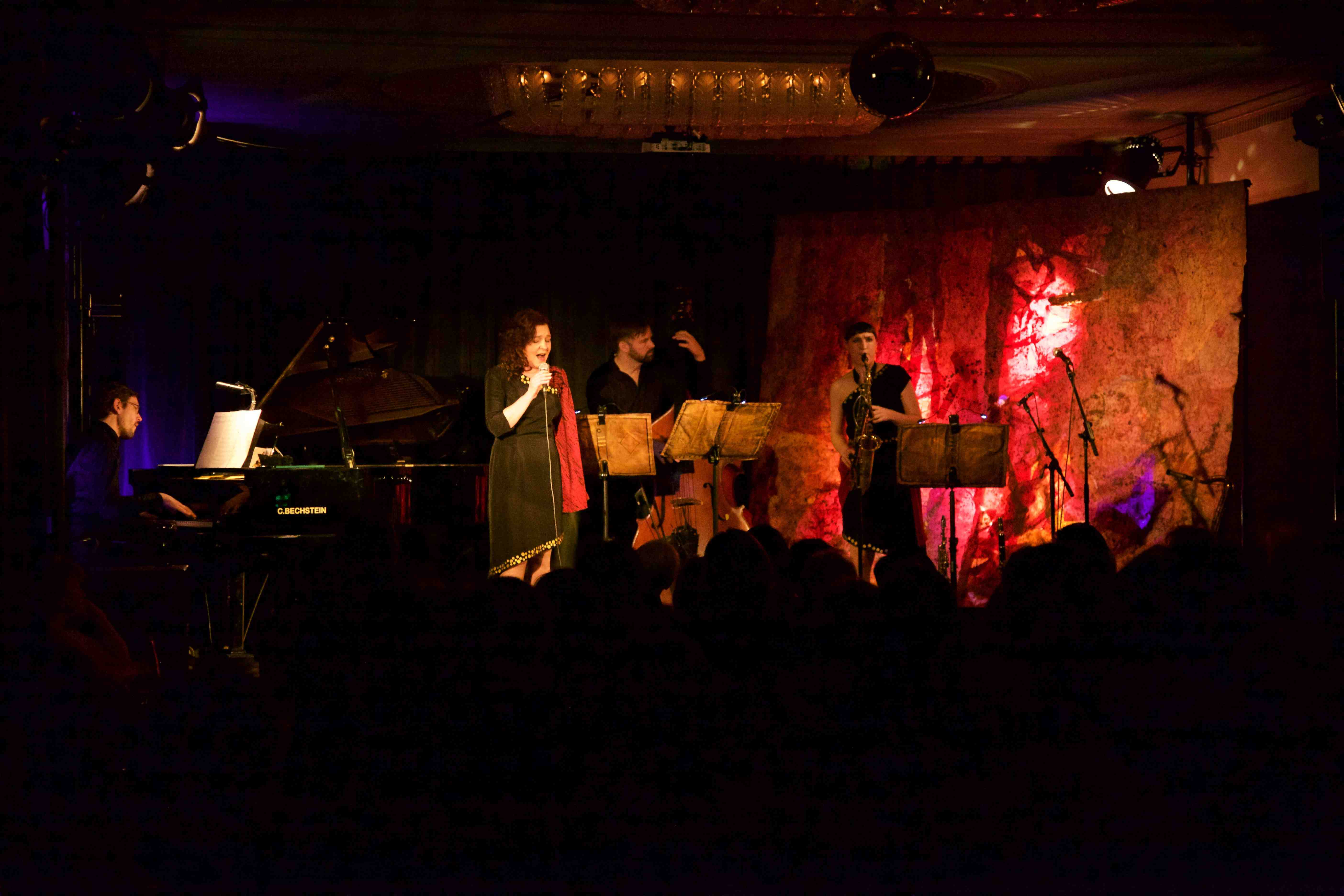 "Konzert: Celina Muza & Susanne Folk Trio ""Non omnis moriar"""